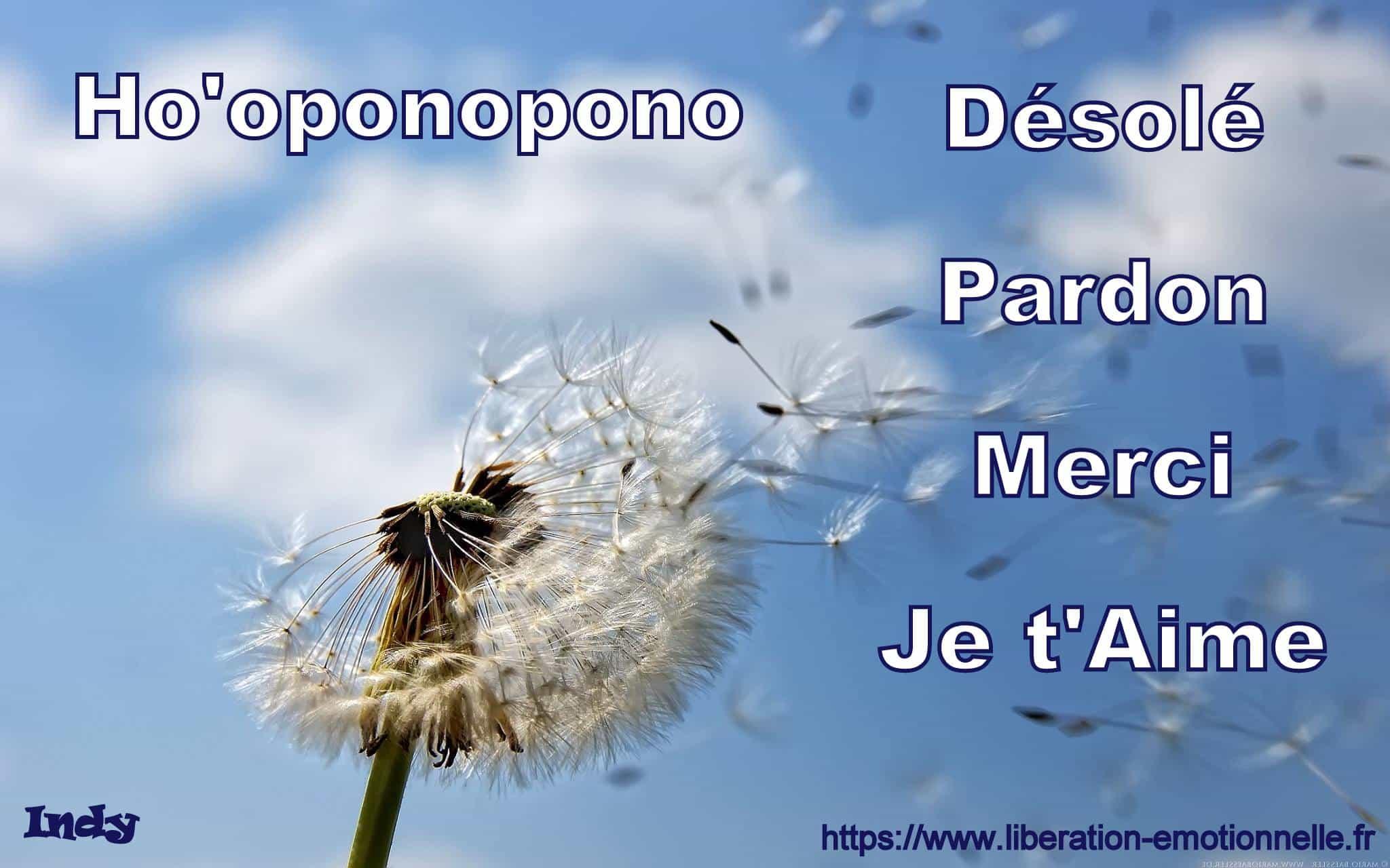 Citation Ho'oponopono et le Métier de Thérapeute
