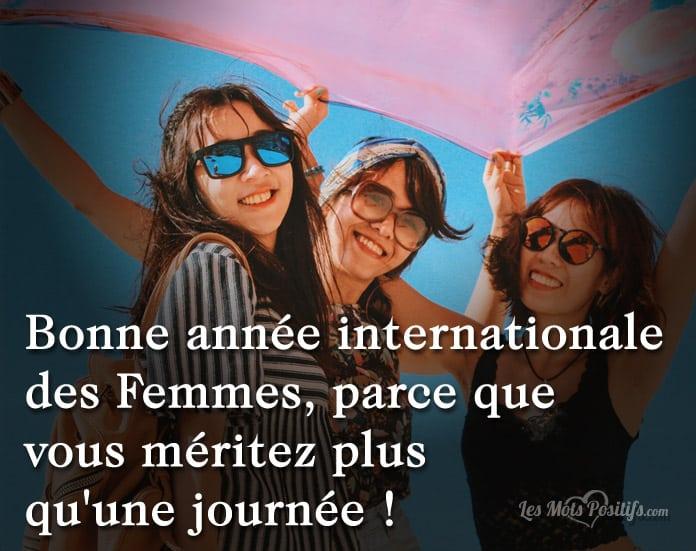 Citation Journée internationale des femmes