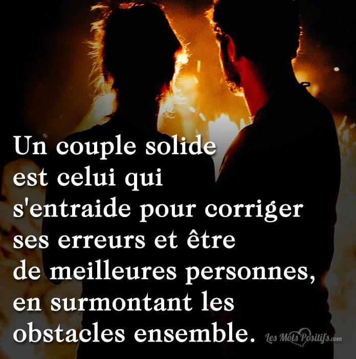 C Est Quoi Un Couple Solide Citations Proverbes Et Tee Shirts