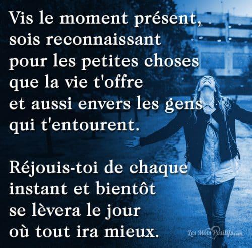 Réjouis-toi de chaque instant