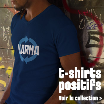 T-shirts positifs