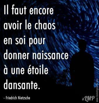 Le chaos en soi selon Nietzsche
