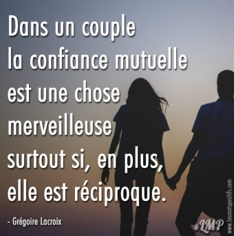 La confiance mutuelle