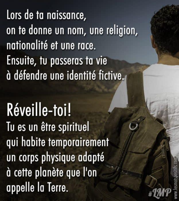 Tu Passeras Ta Vie A Defendre Une Identite Fictive Citations Et