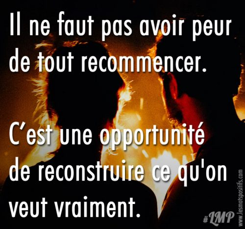 Tout recommencer