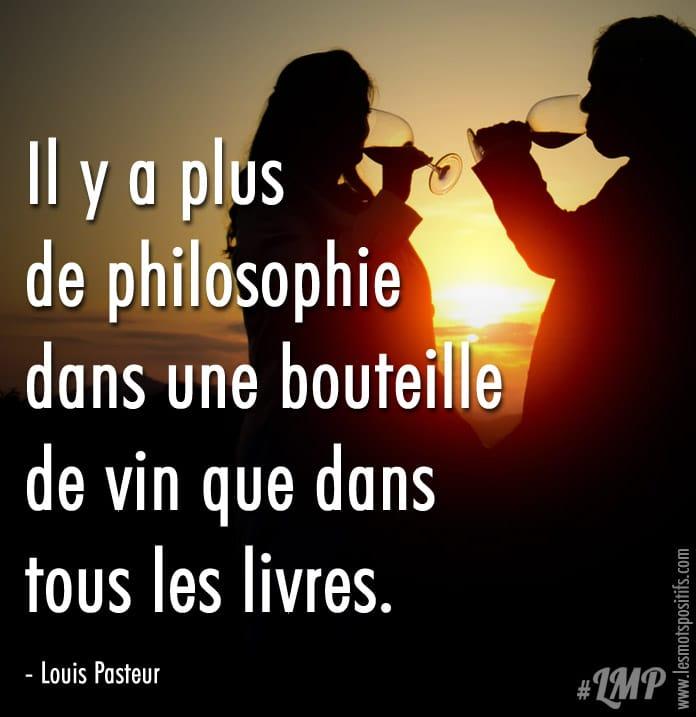 Citation La philosophie selon Louis Pasteur