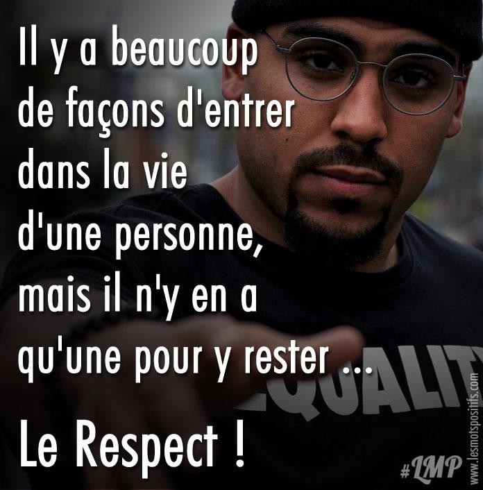 Le Respect Est Essentiel à Toutes Relations Citations Et