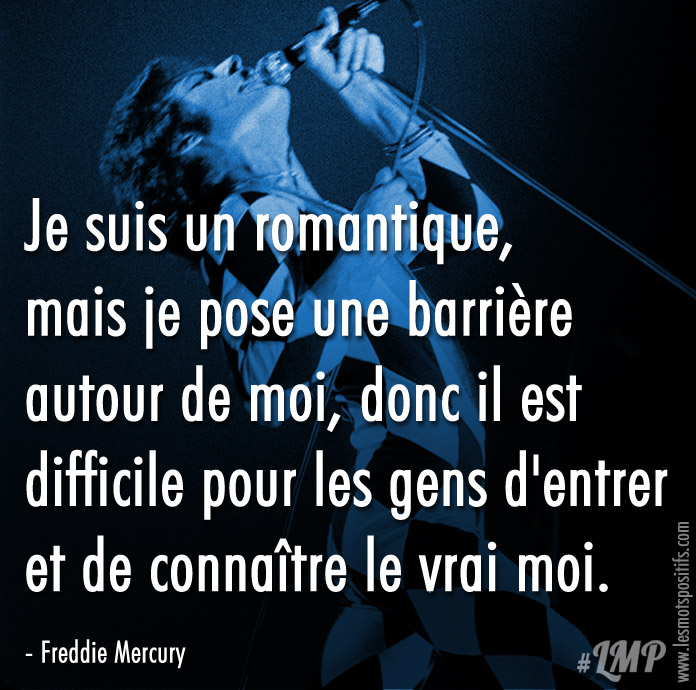 Citation Citation de Freddie Mercury