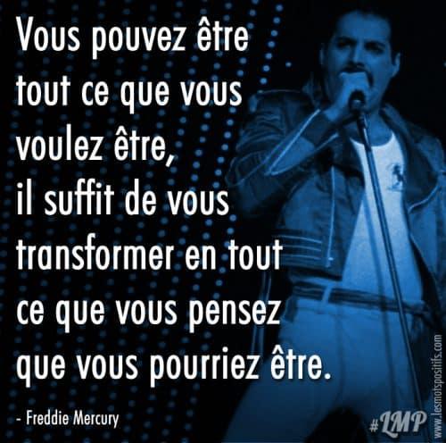 Croire en soi selon Freddie Mercury