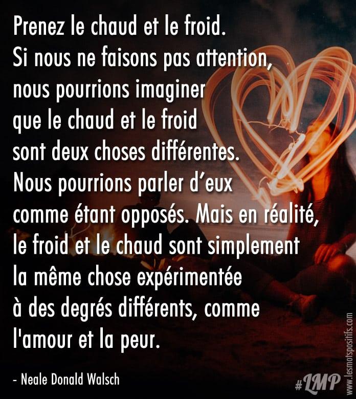 Citation Amour & Peur