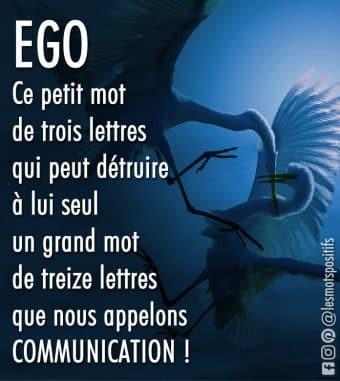 L'ego est l'ennemi de la communication