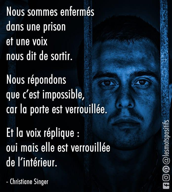 Citation La prison émotionnelle des croyances limitantes