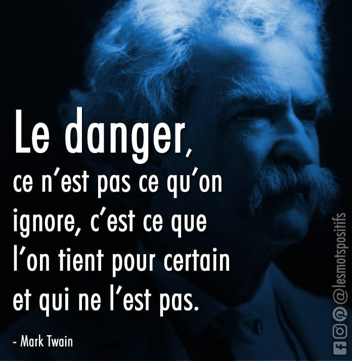 Citation L'ouverture d'esprit selon Mark Twain