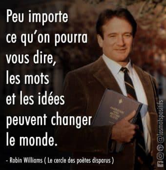 Les mots et les idées peuvent changer le monde