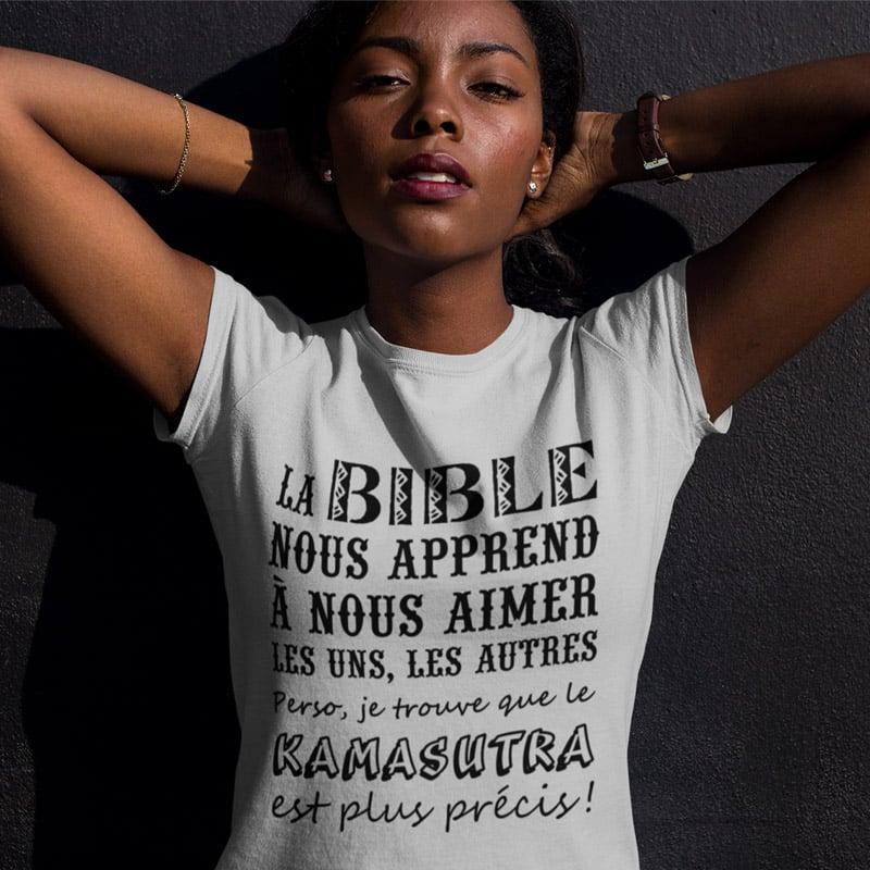 Tee-shirt pour femmes épanouie