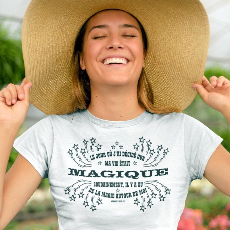 Tee-shirt qui augmente la magie dans ta vie