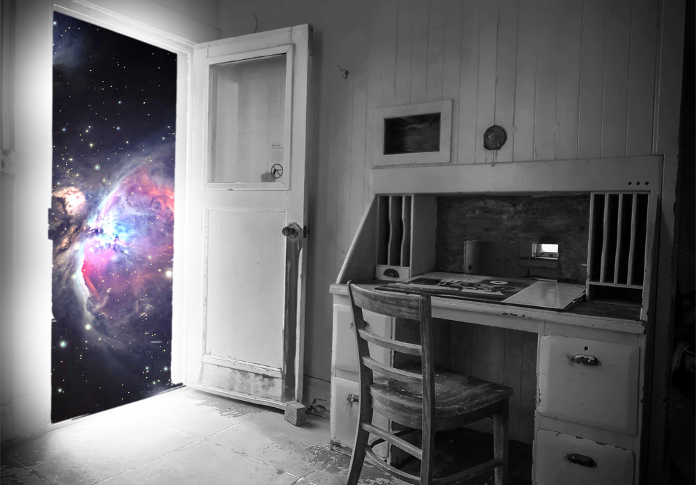 Citation Parfois, quand on ferme la porte sur quelque chose, c'est tout un univers qui s'ouvre