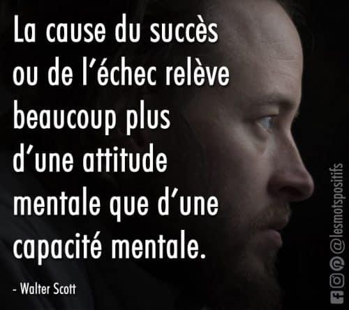 Pour avoir plus de succès dans la vie, change ton attitude !