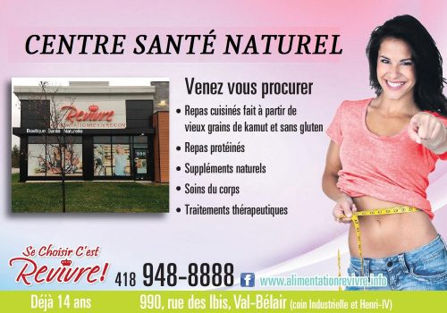 Alimentation Revivre Inc