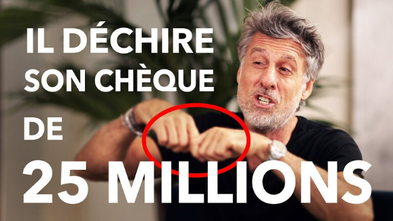 Il déchire son chèque de 25 millions :  l'histoire incroyable de Marc Simoncini (Meetic)