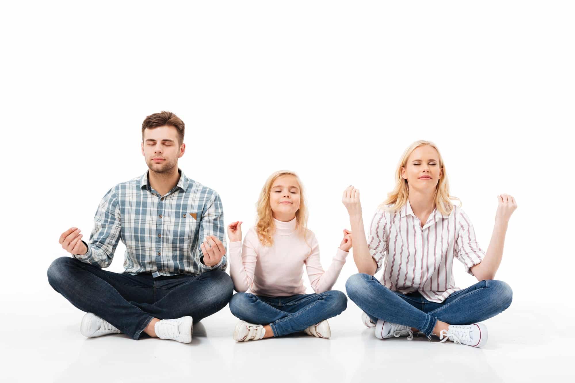 Citation Pour être plus heureux en famille, voici un exercice de pleine conscience