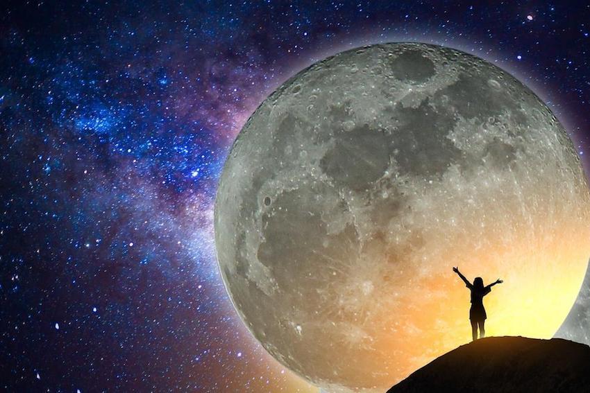 Citation Prière à la Lune (Rituel de libération énergétique)