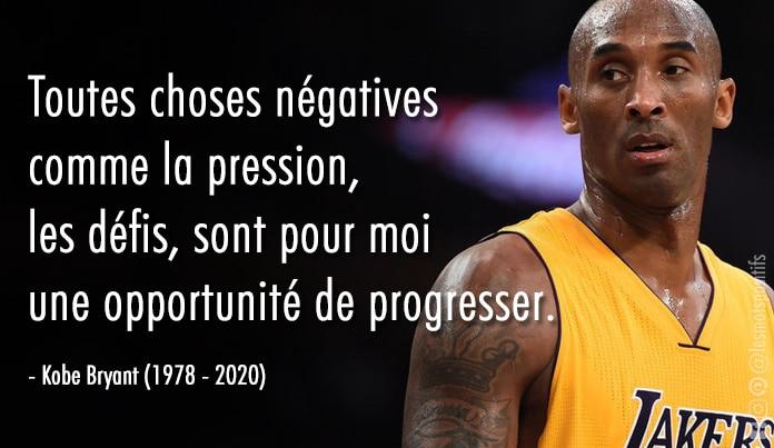 Citation 16 citations de Kobe Bryant pour rendre hommage à ce joueur de basketball légendaire