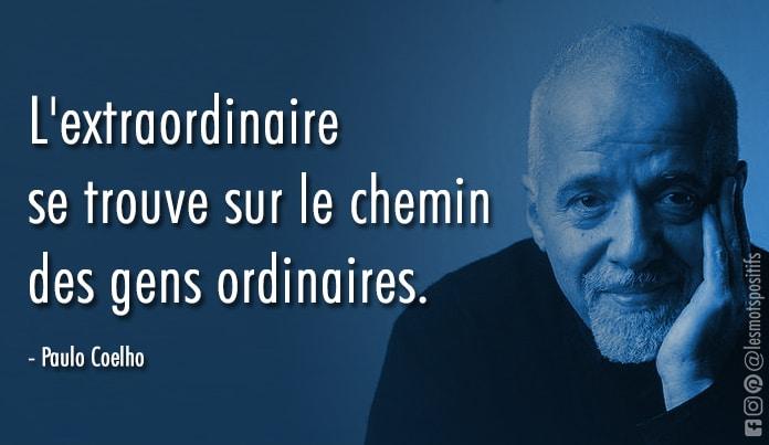 Citation 40 des meilleures citations de Paulo Coelho sur l'amour, le destin et le hasard.