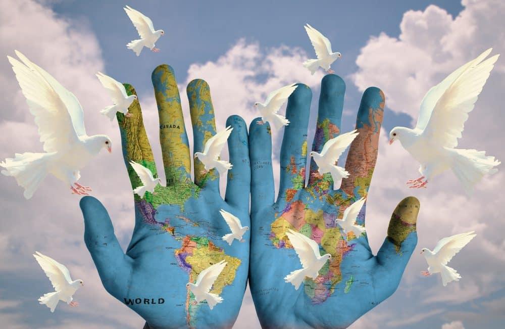 Citation Maintenir la Paix et l'Harmonie en nous malgré le chaos qui sévit actuellement sur Terre