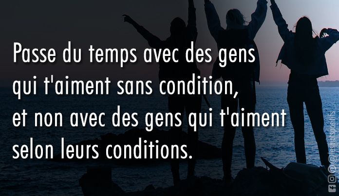 Citation 5 conditions essentielles pour aimer sans condition