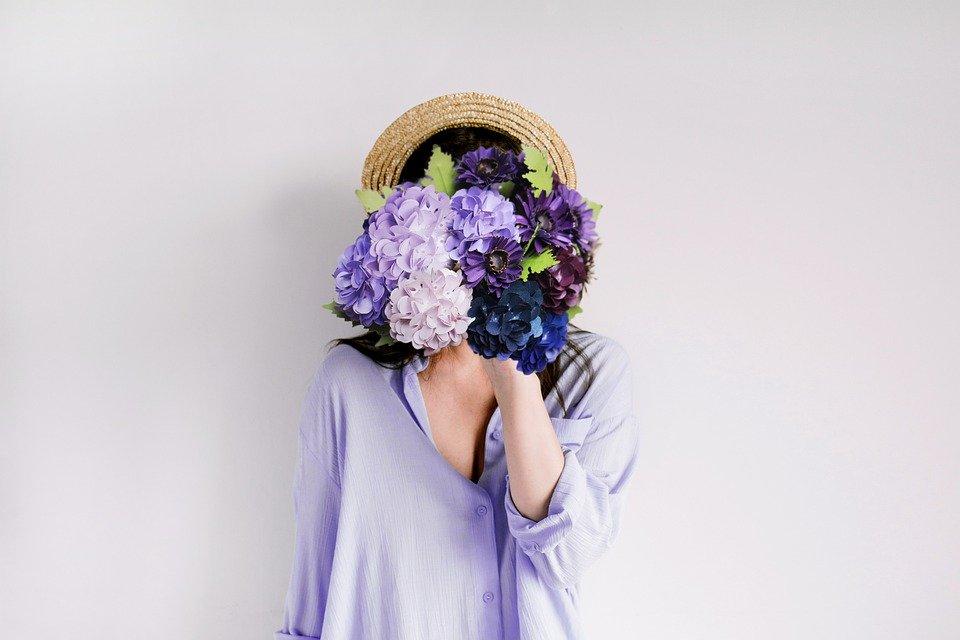 Citation Je lance des fleurs