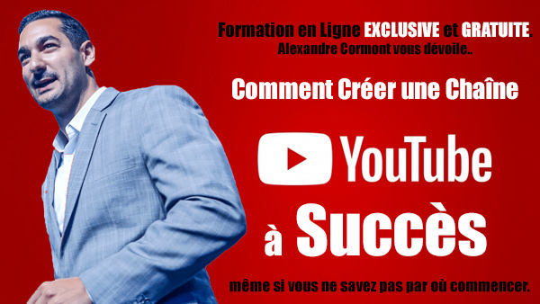 Formation gratuite – Comment créer une chaîne YouTube à succès