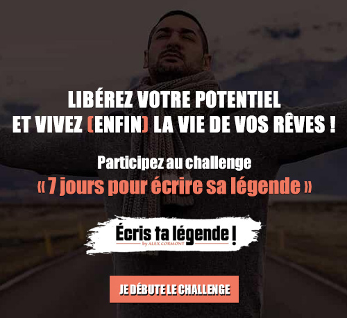 Participez au challenge « 7 jours pour écrire sa légende »
