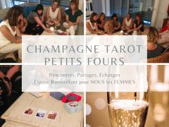 """Evénement exclusif   """"Champagne, Tarot, petits fours » Paris"""