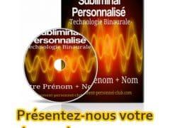 audio subliminaux personnalisés