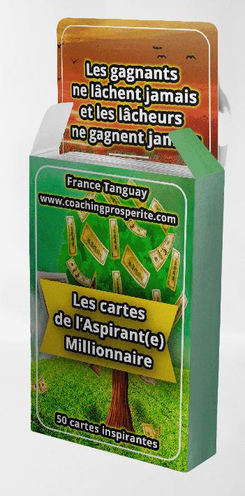 Les Cartes de l'Aspirant(e) Millionnaire