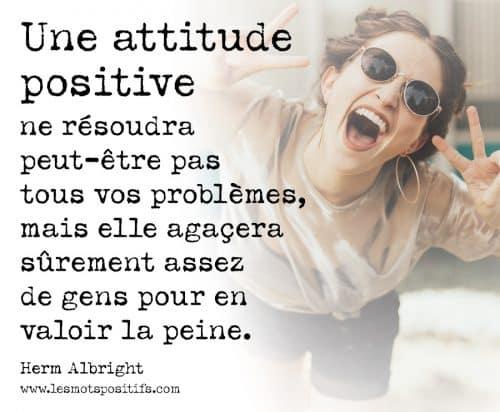 14 citations pour avoir une attitude mentale positive