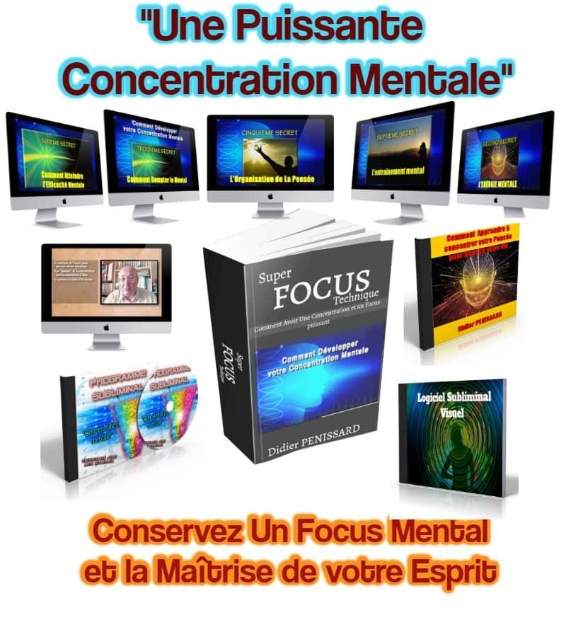 concentration mentale-Focus