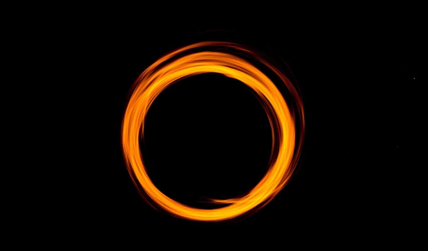 Citation Le cercle d'or de l'amour et la connexion spirituelle
