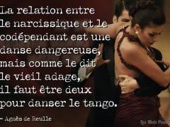 La dance entre le narcissique et le dépendant affectif