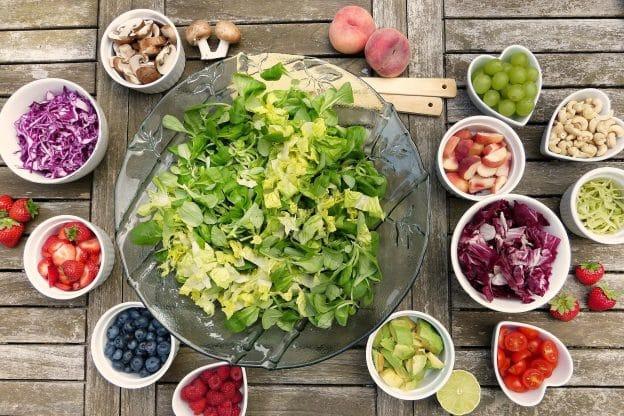 Ayurvéda et la couleurs des aliments
